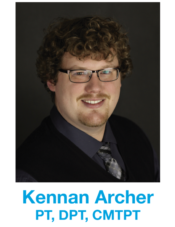 Kennan Archer, DPT, physical therapist headshot