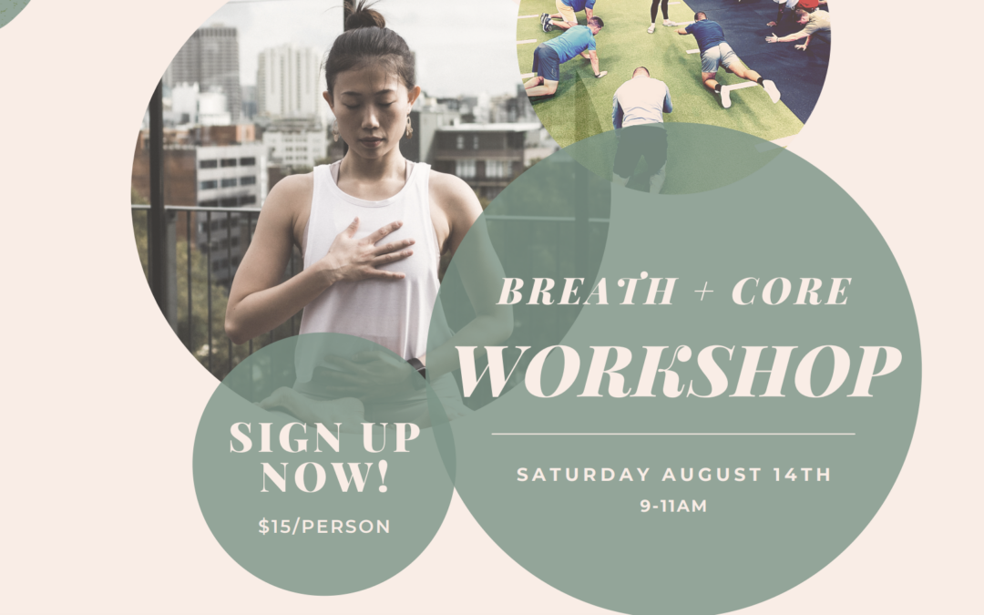 OST to Team Up with Flow Family Chiropractic for a Saturday Breath + Core Workout